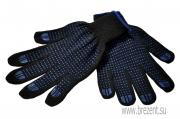Перчатки полушерстянные с ПВХ покрытием