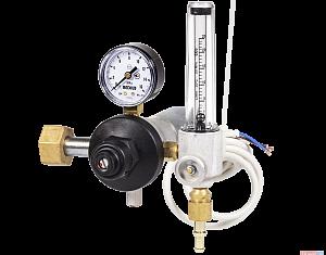 Регулятор расхода газа Redius У-30-КР1П-Р с подогревателем (углекислота)
